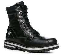 Herren Schuhe Boots Kalbleder wasserabweisend schwarz schwarz,schwarz