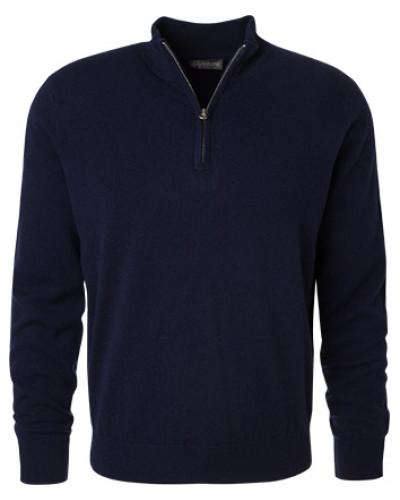 Pullover Troyer, Kaschmir, marine