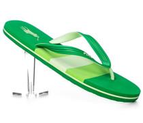 Herren Schuhe Zehensandalen, PVC, grün