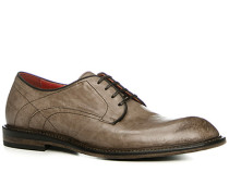 Schuhe Derby Kalbleder greige