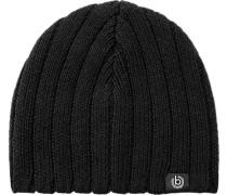 Herren   Mütze Woll-Mix schwarz