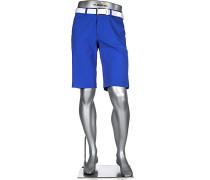 Herren Hose Bermudashorts Master, Modern Fit, 3xDry Cooler, leuchtblau