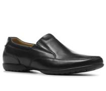 Herren Schuhe 'Recline Free' extra weit Kalbleder schwarz