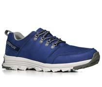 Herren Schuhe Sneaker Nubukleder blau