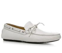 Herren Schuhe Mokassin 'Porto Cervo 2' Leder weiß