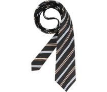 Herren Krawatte  blau,braun,schwarz,weiß
