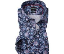 Hemd, Modern Fit, Extra langer Arm, Popeline