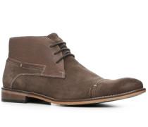 Herren Schuhe Desert Boots Leder-Mix braun braun,braun