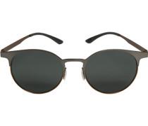 Herren Brillen adidas, Sonnenbrille, Metall, dunkelsilber metallic grau