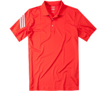 Herren Polo-Shirt Microfaser-Jersey Climacool orange