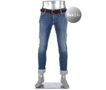 Jeans Speed Slim Fit Baumwoll-Stretch T400 10oz