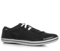 Herren Schuhe 'Solid Canvas' Canvas schwarz
