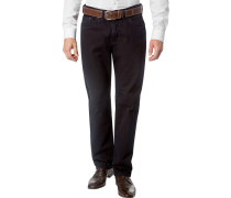 Herren Jeans Regular Fit Baumwoll-Stretch nachtblau