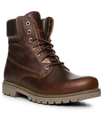Panama Jack Herren Schuhe Stiefeletten, Leder wasserdicht, katanien