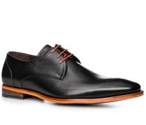 Herren Schuhe Derby Leder schwarz schwarz,braun