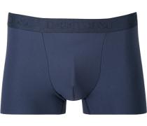 Herren Unterwäsche Trunk, Microfaser-Stretch, navy blau