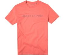 Herren T-Shirt Bio Baumwolle koralle