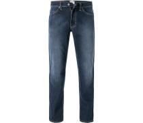 Jeans Tramper Baumwoll-Stretch, dunkel
