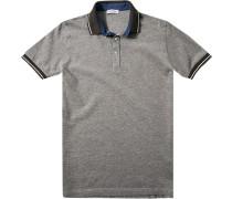 Herren Polo-Shirt Slim Fit Baumwoll-Piqué braun
