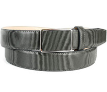 Herren Gürtel grau, Breite ca. 3,5 cm