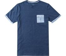 Herren T-Shirt Baumwolle tinten