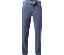 Herren Jeans Seth, Tailored Fit, Baumwoll-Stretch, blau