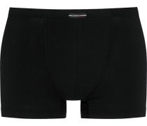 Herren Unterwäsche Shorty Baumwoll-Stretch schwarz