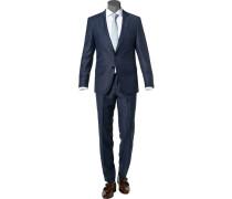 Anzug Huge-Genius, Slim Fit, Schurwolle