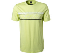 T-Shirt Baumwolle-Mikrofaser grün
