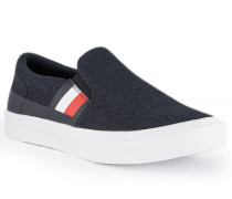 Schuhe Slipper Textil dunkel