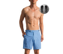 Bademode Shorts mit Zehensandalen, Mikrofaser