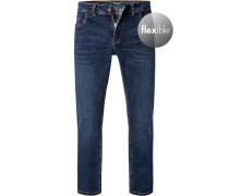 Jeans Modern Fit Baumwoll-Stretch indigo