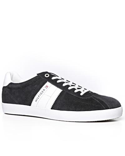 Tommy Hilfiger Herren Schuhe Sneaker, Veloursleder