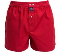Herren Unterwäsche Boxershorts, Baumwolle, rot