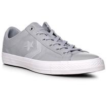 Herren Schuhe Sneaker, Textil, grau