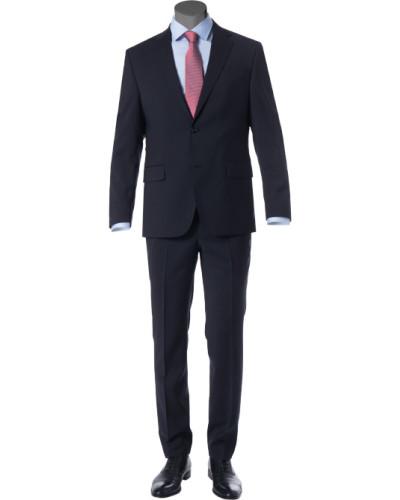 Anzug, Comfort Fit, Schurwolle, nacht