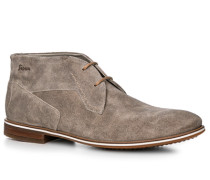 Herren Schuhe Desert Boots Kalbveloursleder greige grau,grau