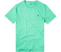 Herren T-Shirt Custom Fit Baumwolle hellgrün