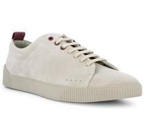 Schuhe Sneaker Veloursleder ecru