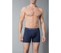 Herren Unterwäsche Trunk Baumwoll-Stretch marineblau