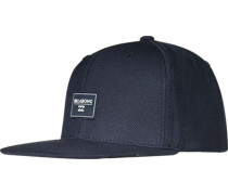 Herren   Cap Microfaser-Woll--Mix Navy blau