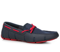 Herren Schuhe Loafer Kautschuk navy blau,blau,orange