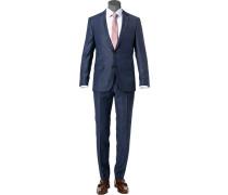 Anzug Huge-Genius, Slim Fit, Schurwolle Super100