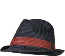 Herren Hut, Stroh, dunkelblau