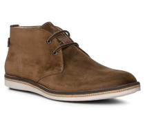 Herren Schuhe ALBANY Kalbvelours braun