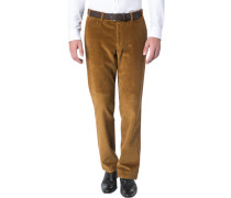 Herren Cordhose Parma, Contemporary Fit, Baumwolle, ocker beige