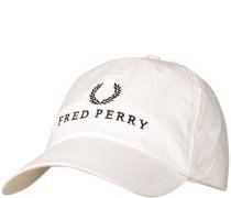 Herren FRED PERRY, Cap, Baumwolle, wollweiß