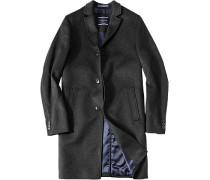 Herren Mantel Lycon Regular Fit Wolle-Mix anthrazit meliert grau,blau