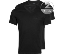 Herren T-Shirts Baumwolle schwarz