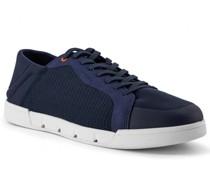 Schuhe Sneaker Textil wasserresistent marine